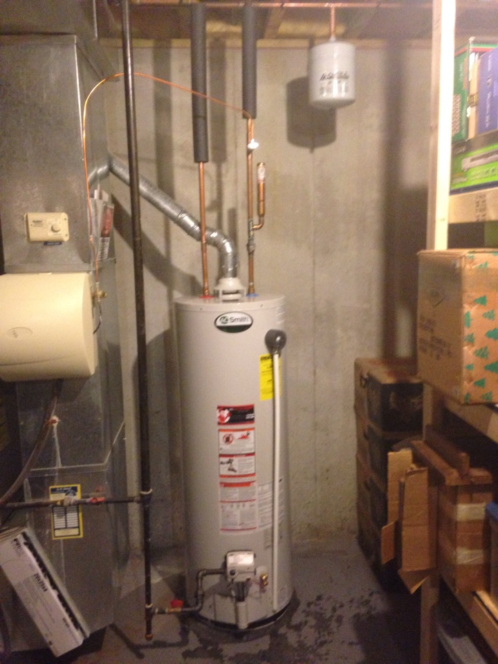 Real Time Service Area For Kc Water Heaters Overland
