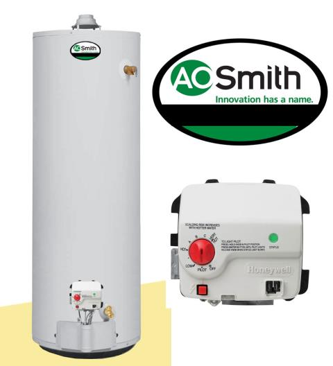 Mableton, GA - Replacing (1) Ao Smith 50 gallon water heater and expansion tank.