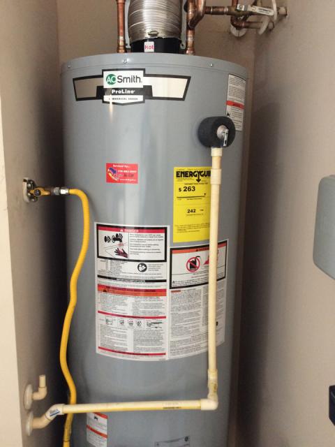 Newnan, GA - Installing (1) AO Smith water heater