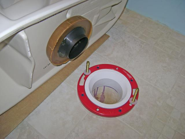 Peachtree City, GA - Replacing wax ring on master bathroom toilet