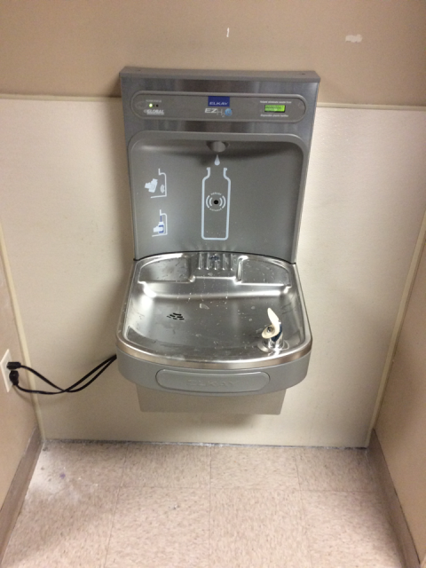 Roswell, GA - Installed (2) drinking fountains with bottle fillers.