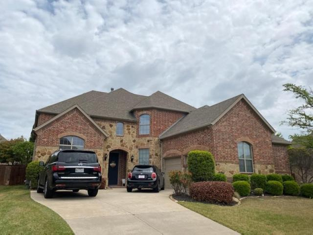 Fort Worth, TX - Contracted roof and gutter replacement due to recent Hail storm.