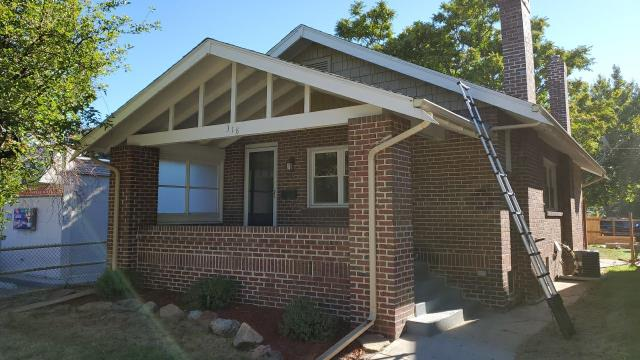 Denver, CO - Replaced Roof and installed new decking for one of our realtor clients.
