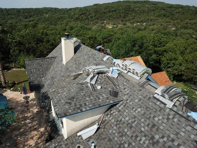 Helotes, TX - Roof replacement for a great client in Helotes Texas.