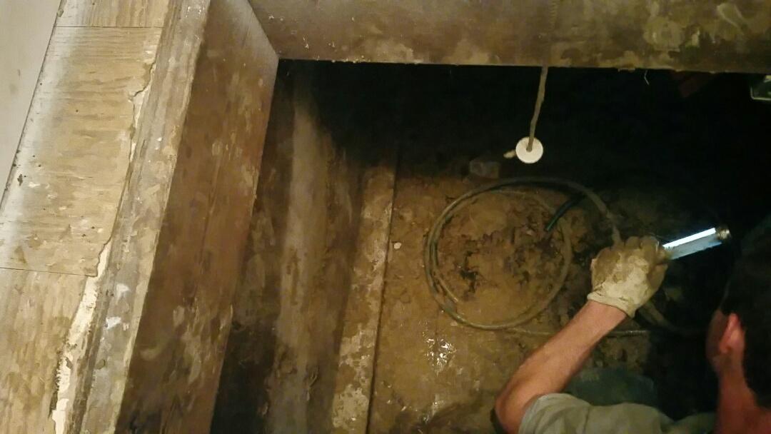 Streamwood, IL - Replace drainpipe in crawlspace
