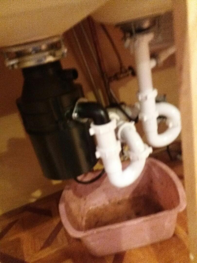 Hoffman Estates, IL - Rod kitchen sink line