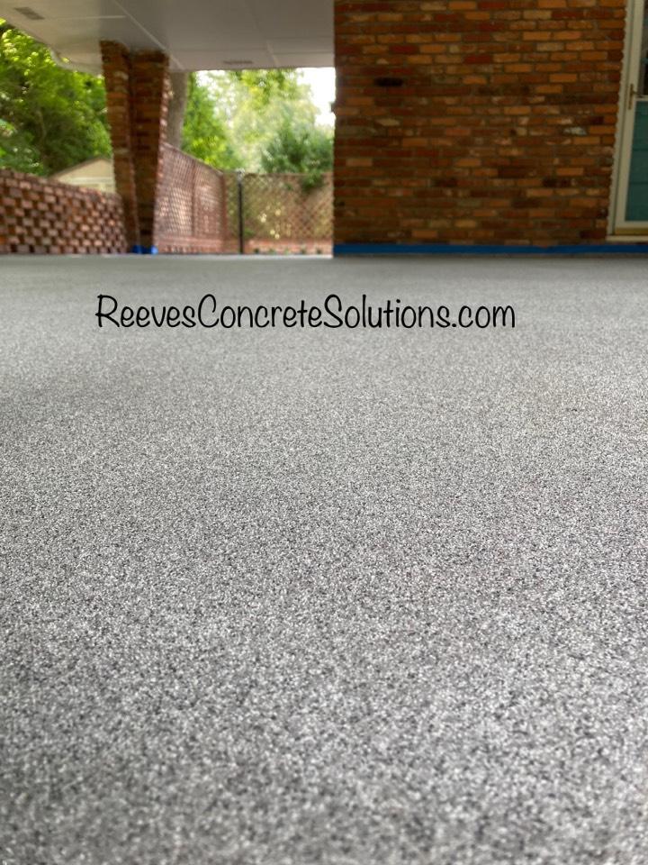 Marietta, GA - We just finished up this Graniflex Quartz concrete floor. Near Marietta Georgia