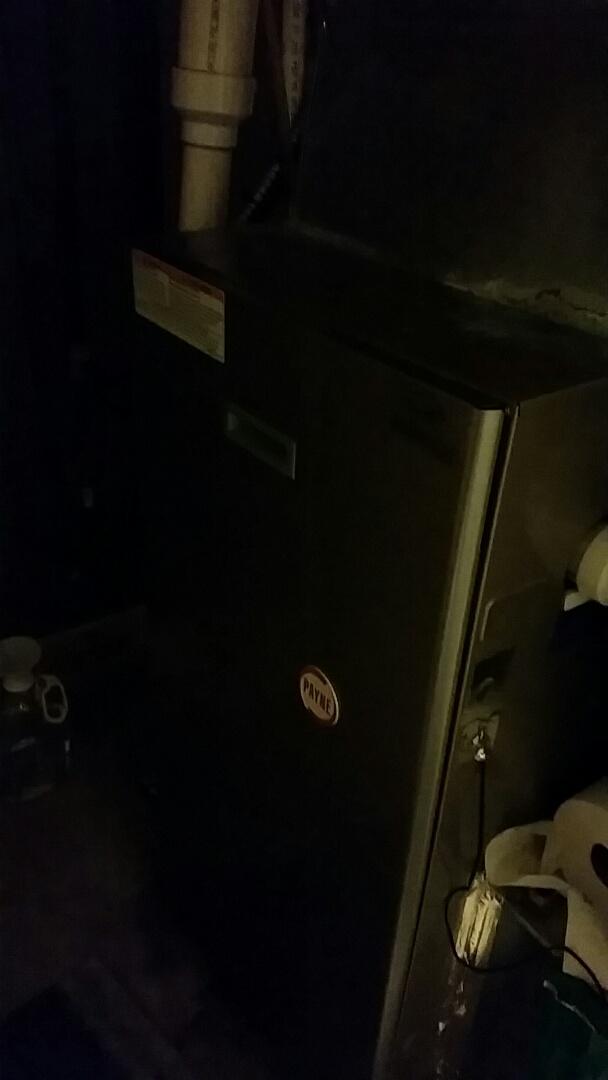 Burton, MI - Performed furnace maintenance on a Payne furnace A-1 service
