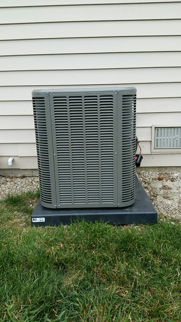 Grand Blanc, MI - Installed an air conditioner in Grand Blanc.
