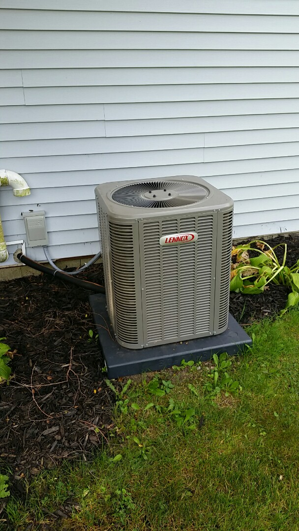 Grand Blanc, MI - AC startup are New Lennox furnace air conditioner