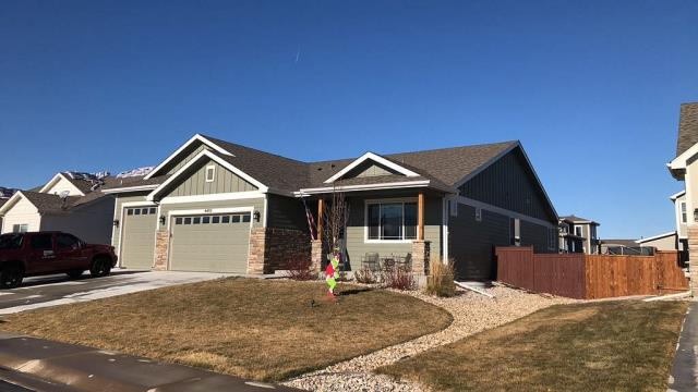 Wellington, CO - Completed Project: Reroof of home using Owens Corning Duration Storm Asphalt Shingles. Full remove and replacement of 5 inch seamless gutters