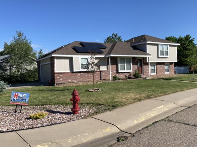 Windsor, CO - Completed trim replacement and full exterior painting with Sherwin Williams resilience paint.