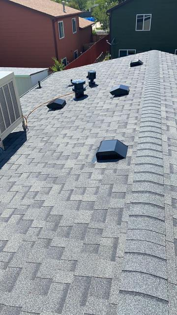 Fort Collins, CO - Completed Project: Reroof of home using Owens Corning Duration Storm Aspahlt Shingles.