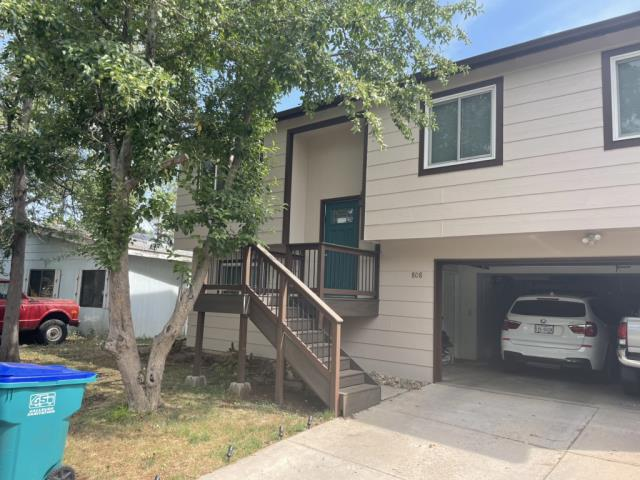 Fort Collins, CO - We finished partial lap siding replacement, a full exterior paint job and full gutters/downspouts install. We used LP Smart Side Lap Siding, Sherwin Williams Emerald Exterior Paint and Mastic Seamless Gutters.