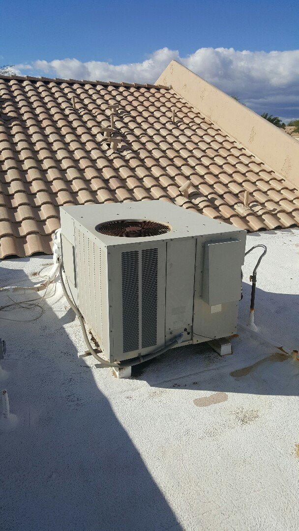 Peoria, AZ - Heater repair on Goodman gas unit