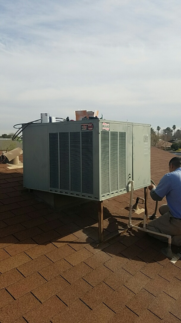 Youngtown, AZ - Heater repair for RUUD packaged heat pump