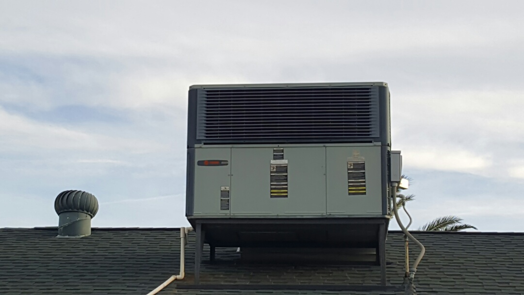 Sun City, AZ - Air conditioner inspection for real estate sale.