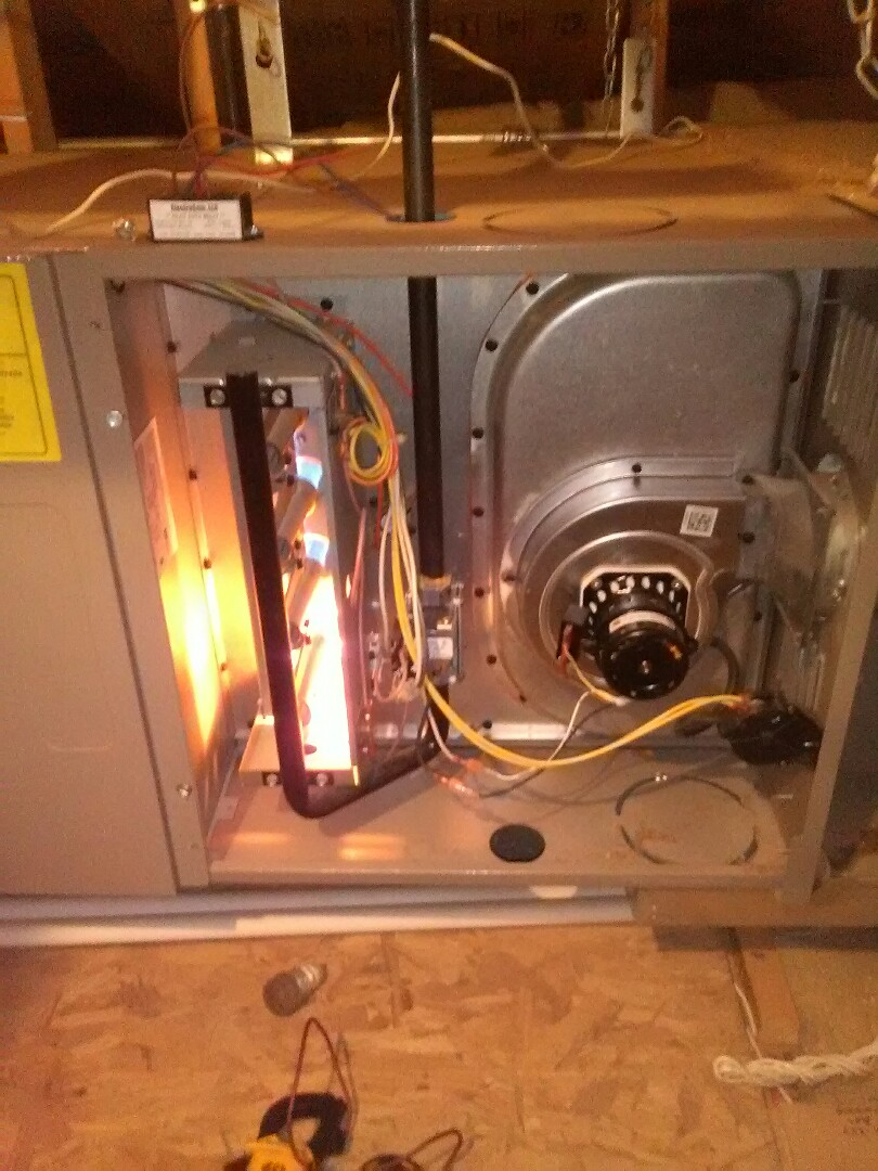 Litchfield Park, AZ - Seasonal maintenance on two furnaces.