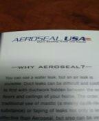 Sun City, AZ - Aeroseal USA training.