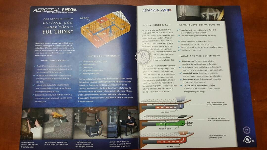Sun City, AZ - Training on Aeroseal duct sealing system!