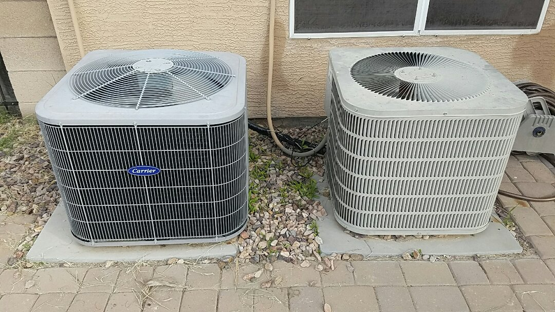 Buckeye, AZ - Heat Pump maintenance.