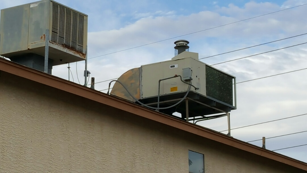Peoria, AZ - Proposal for new rooftop package air conditioner and heater combo (Gas pack)