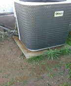 Wittmann, AZ - Heat pump maintenance on split system.