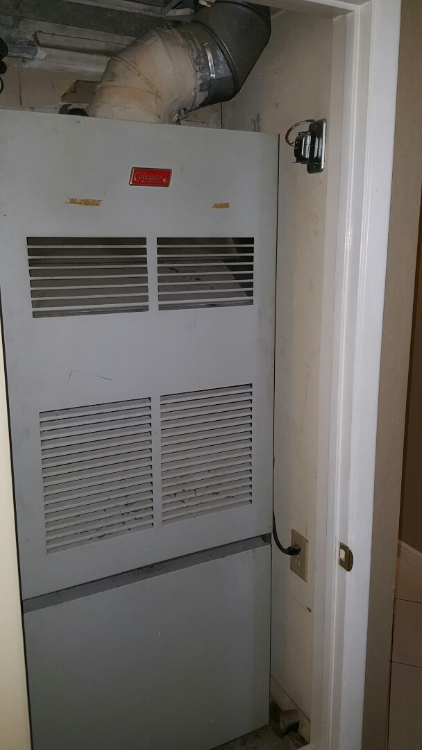 Phoenix, AZ - Proposal to replace old Coleman gas furnace.