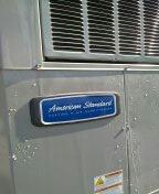 Sun City West, AZ - Pre-summer HVAC check-up on American Standard package unit.