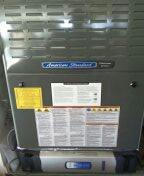 Sun City West, AZ - Diagnosing air handler on a split American standard system.