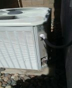 Peoria, AZ - Determining the cause of a leak on a split system.