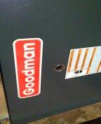Goodyear, AZ - A/c maintenance on a split system furnace.