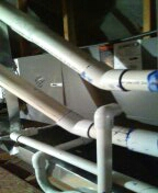 Buckeye, AZ - Maintenance inspection on a Lennox split system.