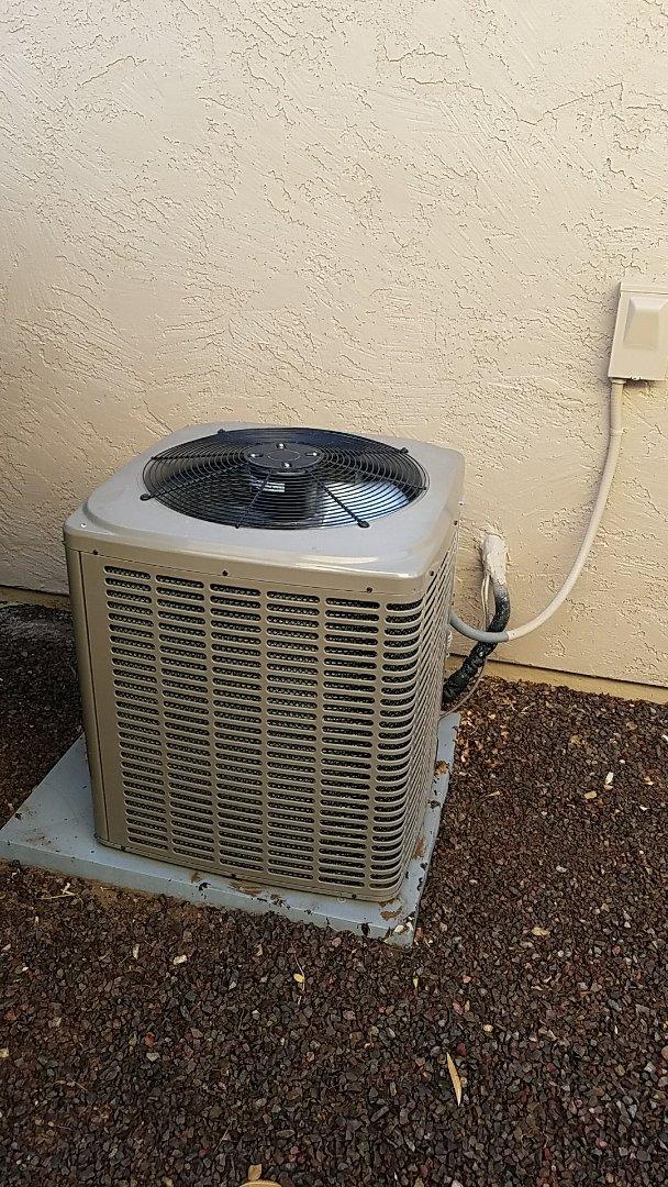 Buckeye, AZ - Diagnostics for noisy outdoor unit!