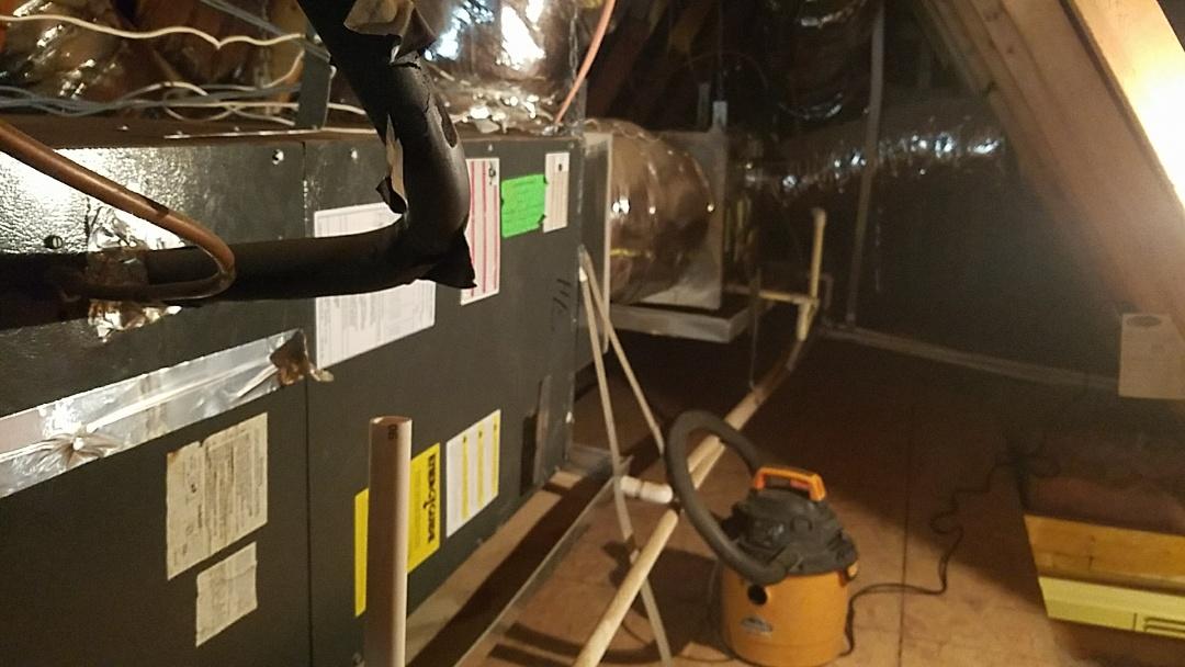 Buckeye, AZ - Seasonal Cooling Maintenance on two Goodman Split Heat Pump Systems.