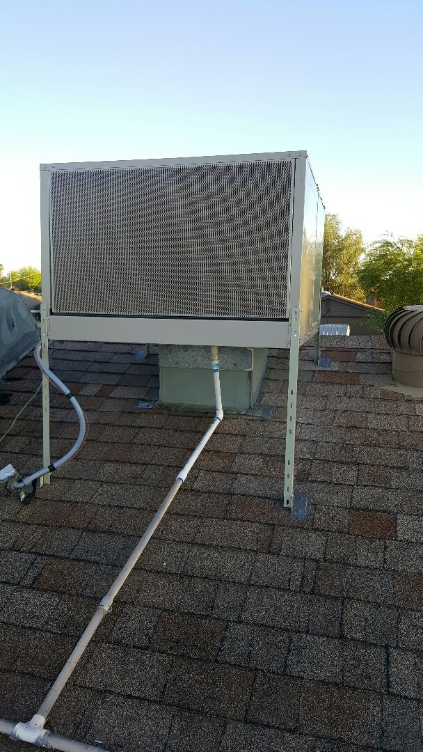 Phoenix, AZ - Installation of new Mastercool evaporative cooler