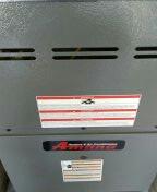 Sun City West, AZ - Seasonal cooling maintenance on a split system gas furnace.