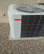 Sun City West, AZ - Electrical replacement on a Bryant outdoor condensing unit.