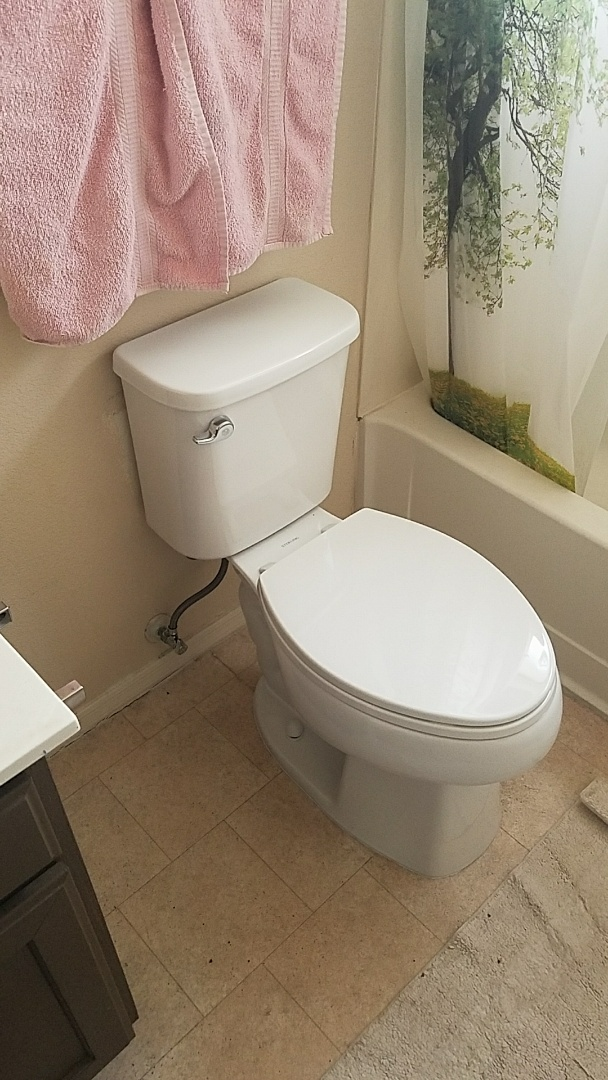 Avondale, AZ - Replace two toilets and one faucet.