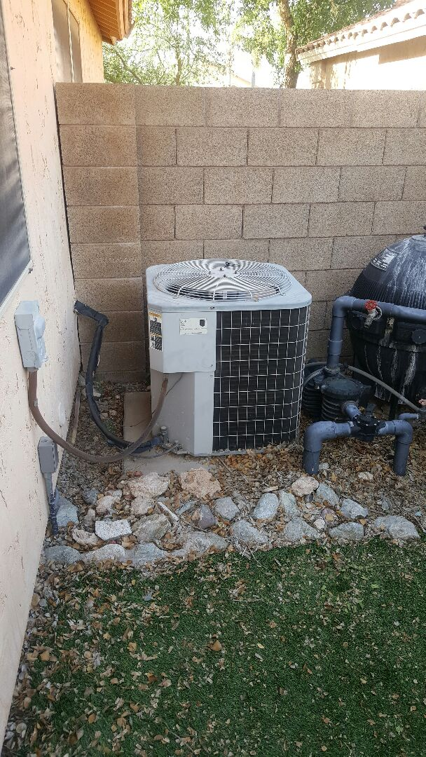 Peoria, AZ - Evaluation of Carrier Air conditioner
