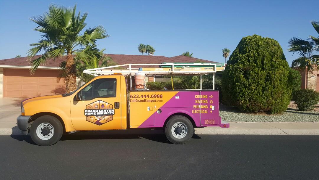 Sun City, AZ - Delivering Honeywell MERV11 air filter to client.
