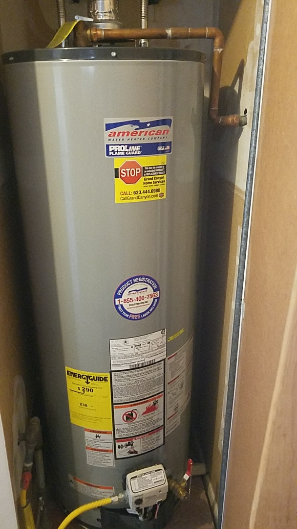 Sun City, AZ - Seasonal Cooling Maintenance and water heater flush for Grand Canyon Care Club Member.