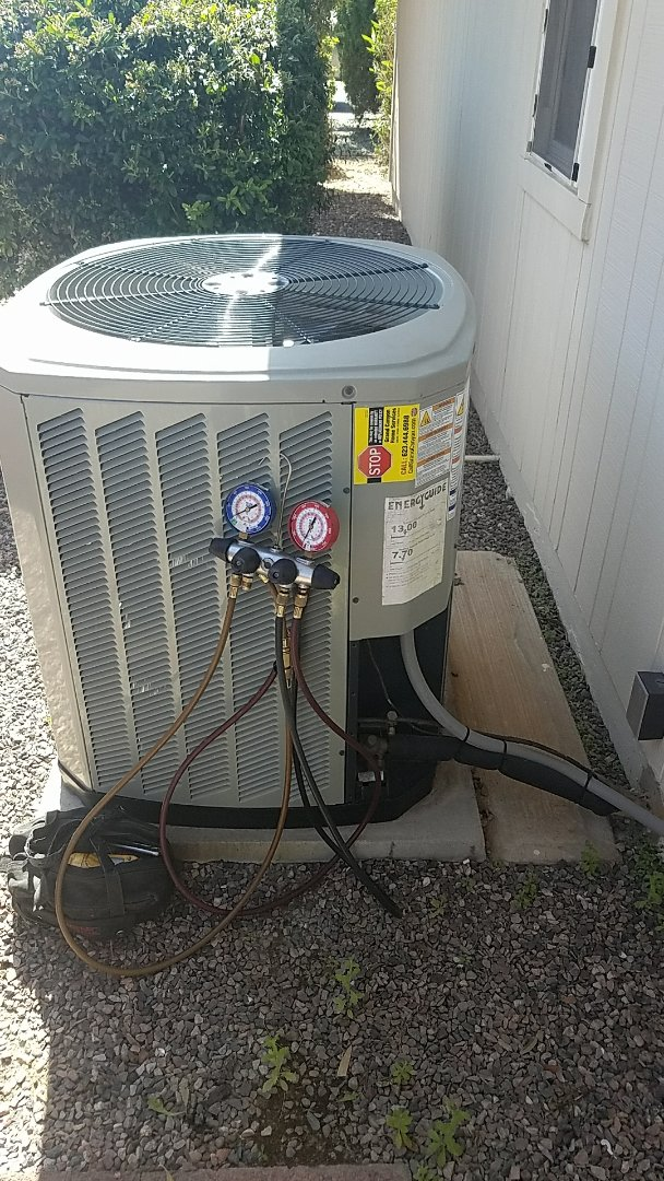 Sun City, AZ - Seasonal Cooling maintenance with Merv 11 filter replacement for Grand Canyon Care Club Member.
