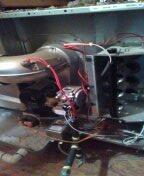 Waddell, AZ - Maintenance on gas furnace split system.
