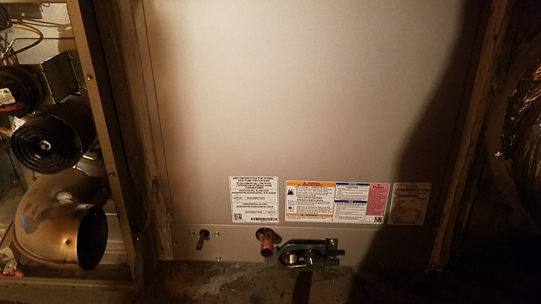 Sun City West, AZ - Evaporative Coil replacement on R410 refrigerant system.
