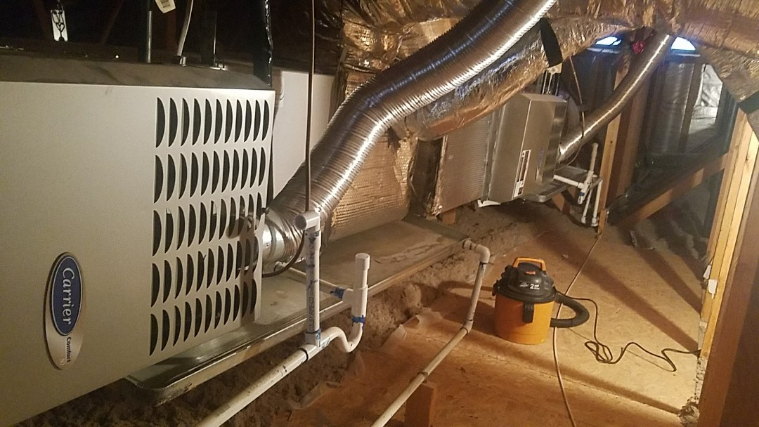 Waddell, AZ - Seasonal cooling maintenance on 2 Carrier Gas Electric split systems for Grand Canyon Home Services Care Club Member.