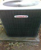 Surprise, AZ - Spring maintenance on a split system Lennox.