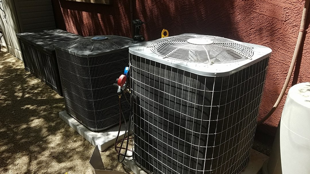 Surprise, AZ - Replacement of blower assembly and seasonal cooling maintenance.