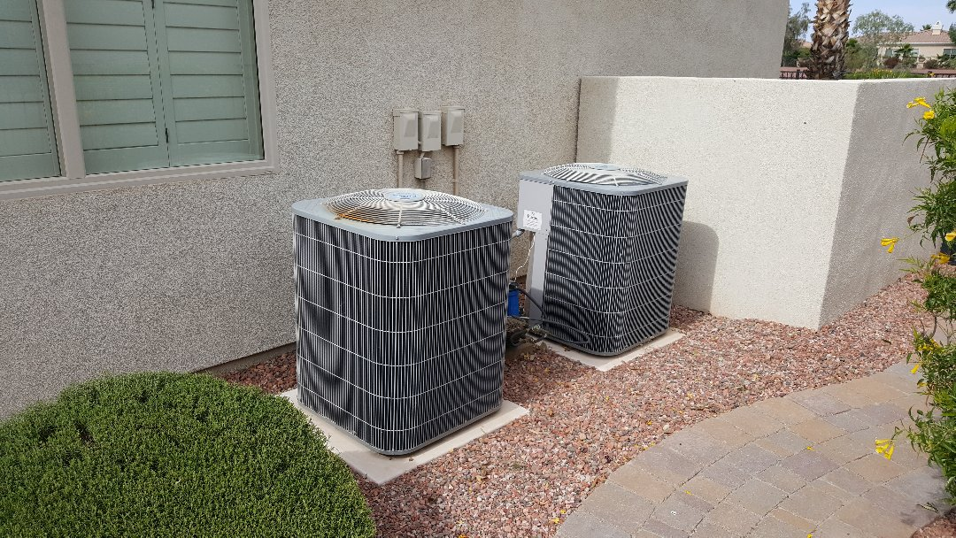 Sun City West, AZ - Evaluation of to Carrier air conditioning units in Corte Bella