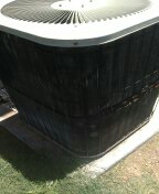 Avondale, AZ - A/ C maintenance on a Goodman heat pump.